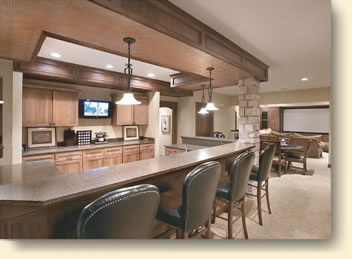 Residential Bar Remodeling Projects By Simms Remodeling